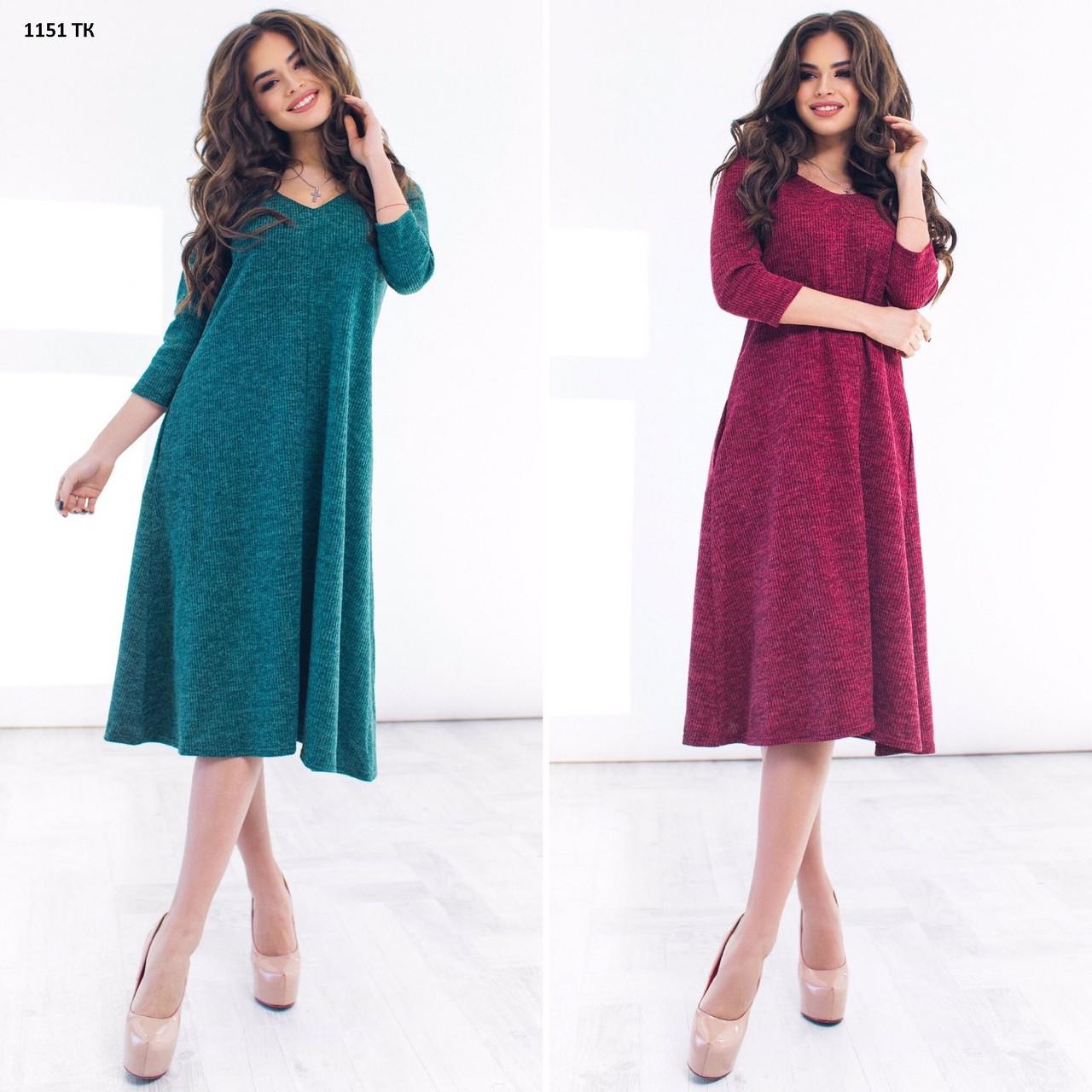 Свободное женское платье норма 1151 тк