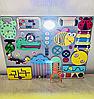 Развивающая доска размер 40*50 Бизиборд для детей 27 элементов!, фото 5