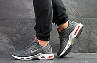 Мужские кроссовки в стиле Nike Найк Air Max TN, серые 44 (28,2 см), Д - 7278