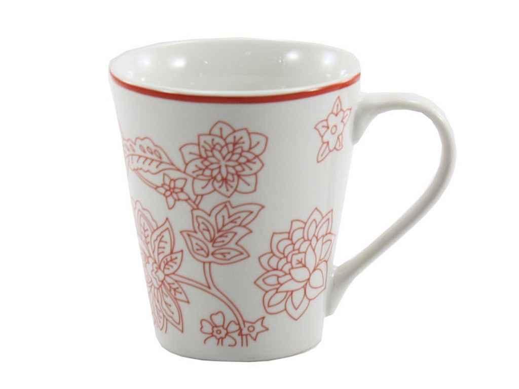 Чашка фарфорова 300мл Адріана CLW-2 ТЕХ/УПАК ТМ INTEROS
