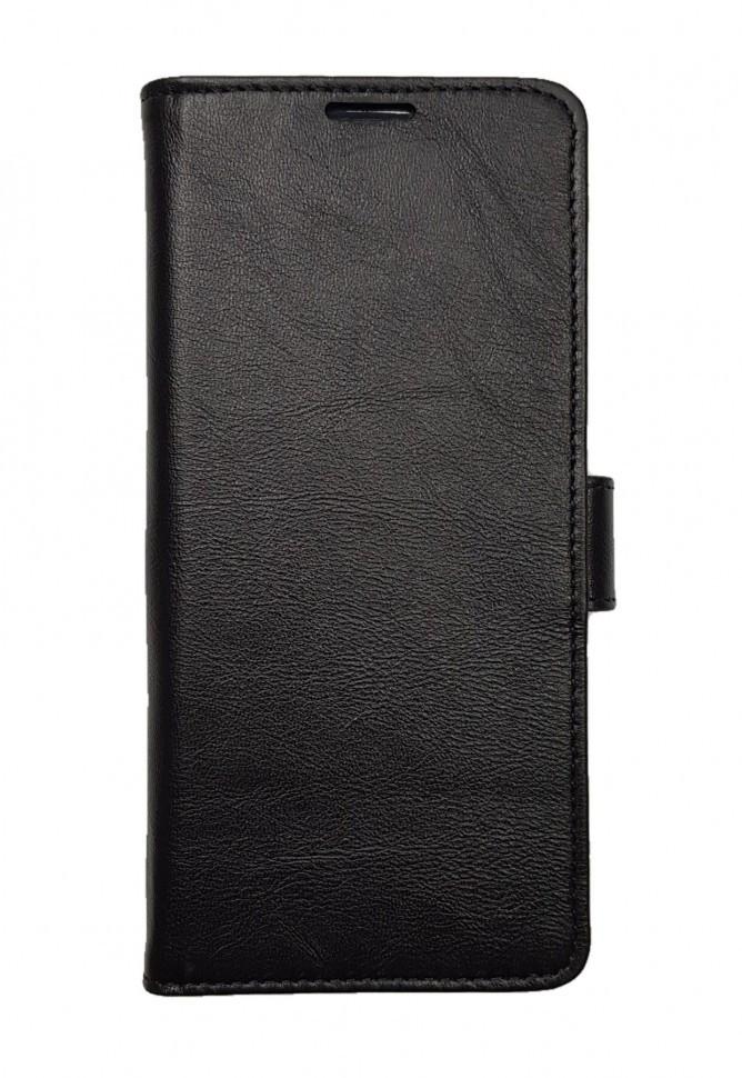Кожаный чехол-книжка Valenta для Samsung Galaxy A71 Черный (124111sga71t)
