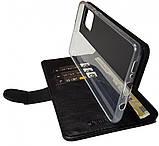 Кожаный чехол-книжка Valenta для Samsung Galaxy A71 Черный (124111sga71t), фото 3