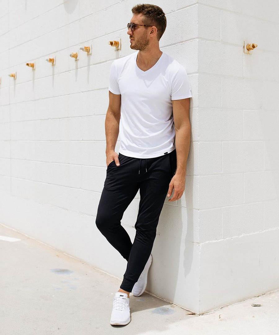 Спортивные трикотажные штаны BUTZ - №6602