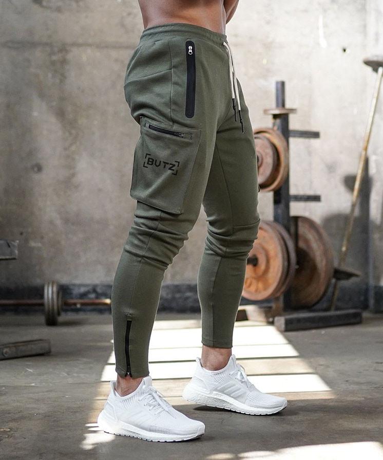 Зелені спортивні штани BUTZ - №6648
