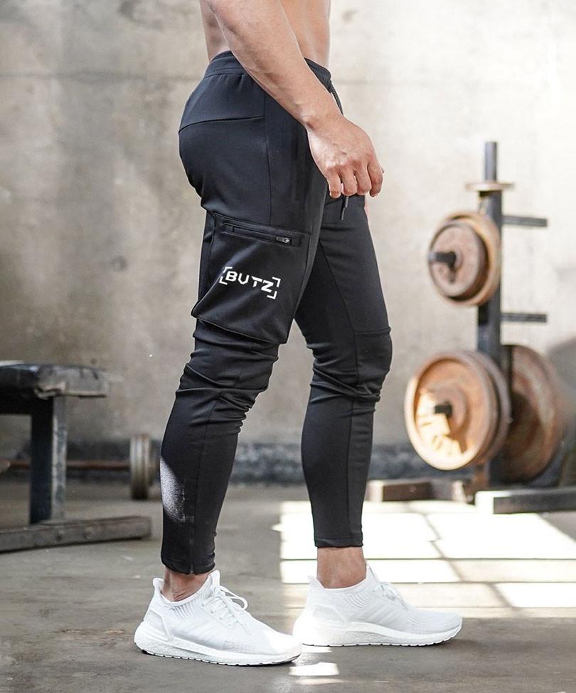 Модные спортивные брюки BUTZ - №6650