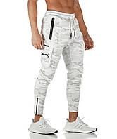 Білі спортивні штани BUTZ - №6682