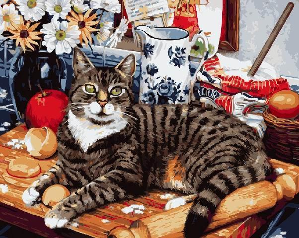 Кот-кулинар