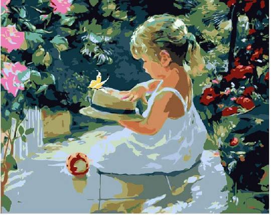 Дівчинка в саду, фото 2