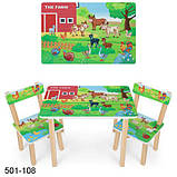 Столик  со стульчиками Bambi 501, фото 5