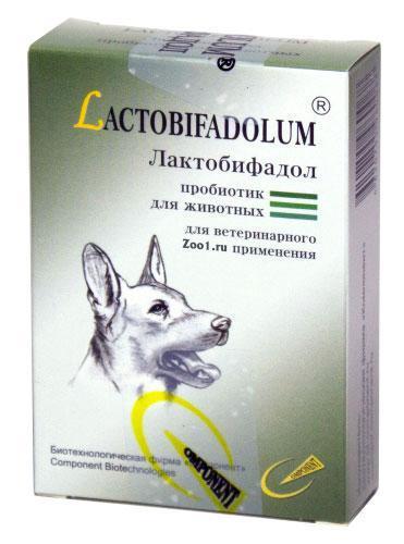 Лактобифадол ФОРТЕ для собак, 50 г