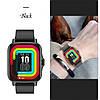 Наручные смарт-часы Lemfo FM 08 Black  умные часы с измерением давления, фото 5