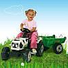 Трактор GM Vache с прицепом Smoby 33352