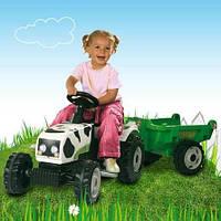 Трактор GM Vache с прицепом Smoby 33352, фото 1