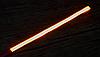 Светодиодная лента 60см на 3М скотче, КРАСНАЯ,  в силиконе. Динамическое мерцание., фото 4