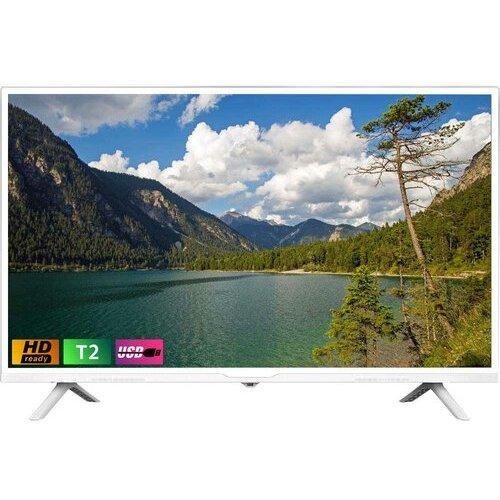 Телевізор Bravis LED-32G5000 + T2 White
