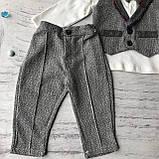 Детский нарядный костюм на мальчика 708. Размер  80 с, фото 2