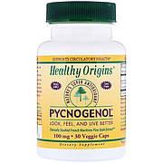 Пикногенол, Pycnogenol, Healthy Origins, 100 мг, 30 капсул