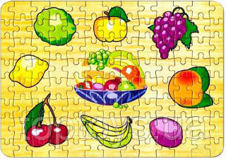 Пазл Бомик Фрукти 1 Лимон 104 елемента (722)