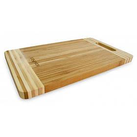 Доска кухонная бамбуковая прямоугольная 46 х 34 х 2 см Lessner 10301-46 LS