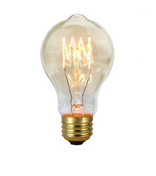 Лампа Едісона А19 40W 2700K Amber 220V