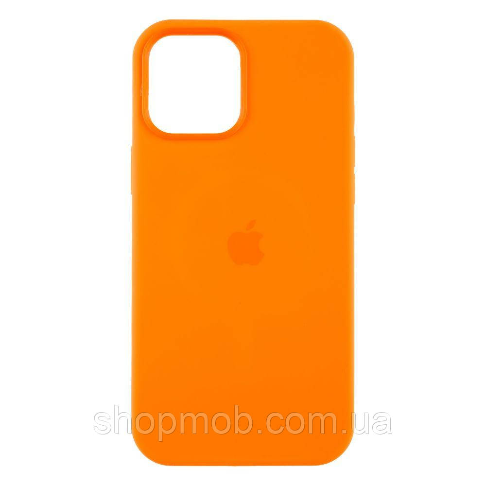 Чехол MagSafe Silicone Case Iphone Full Size 12 Pro Max Цвет Pink Citrus