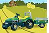 Педальный трактор TGM Stronger Smoby 33406