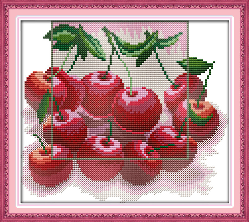 Набор для вышивки вишни