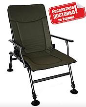 Карповое складное кресло с регулируемой спинкой Vario Carp (бесплатная доставка)