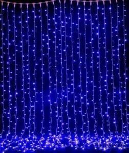 Гирлянда светодиодная водопад (LED) 480 л, 3x2 м, фото 2