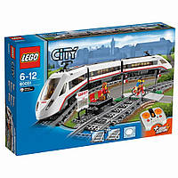 LEGO® City Железная дорога - СКОРОСТНОЙ ПАССАЖИРСКИЙ ПОЕЗД