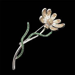 Елітна брошка - Квітка любові