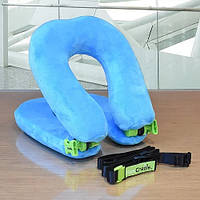 Багатофункціональна подушка-трансформер FaceCradle Wanderlust Блакитний (980-02)