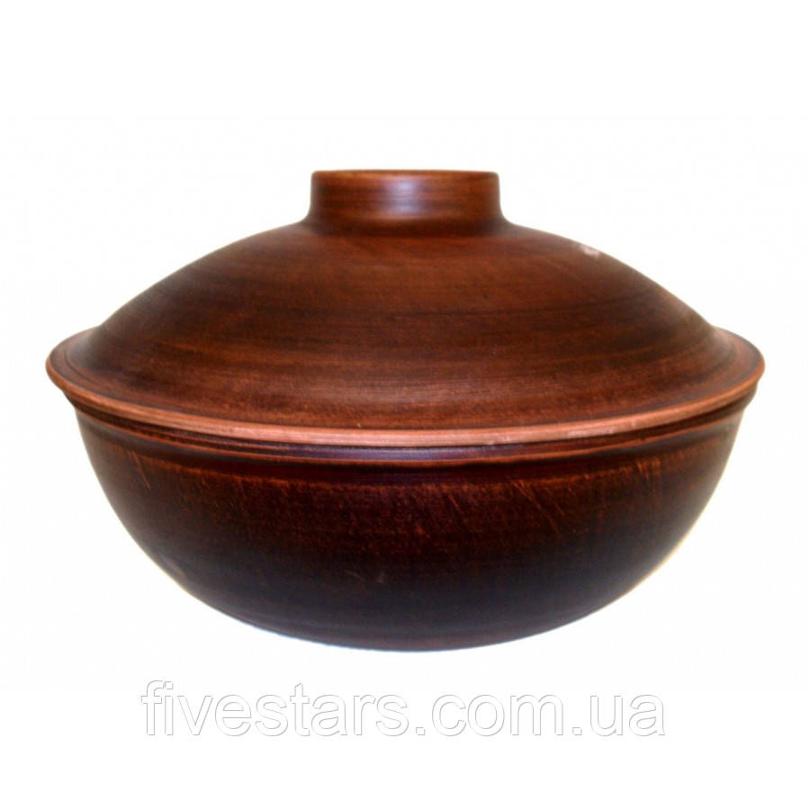 Сковорода глиняная  Гладкая  4 л