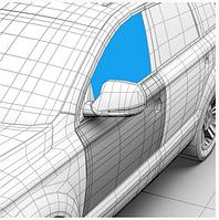 Стекло дверное переднее левое Dacia Logan седан , универсал фаза 1/2