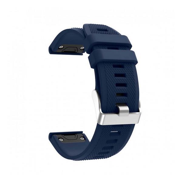 Ремінець для Garmin QuickFit 22 Dots Silicone Band Dark Blue