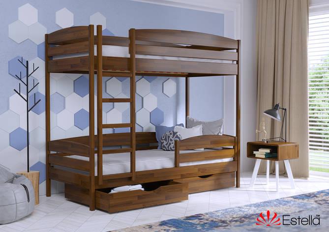 Двоярусне ліжко Дует Плюс 90х200 103 Щит 2Л4, фото 2