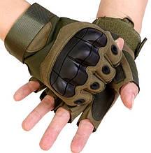 Рукавички без пальців штурмові тактичні Viper HJG00377 Зелений (tau_krp270_00377f)
