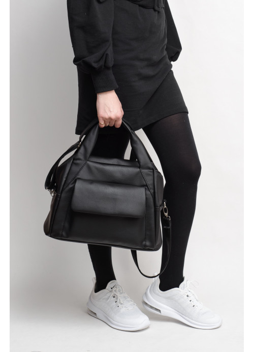 Женская спортивная cумка  Sambag Vogue BKT  черная