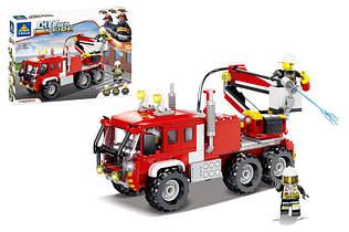 Конструктор Пожарная машина Сити 80526, 256 дет, пожарная серия