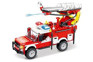 Конструктор Пожарная машинка Сити 80530, 265 дет, пожарная серия