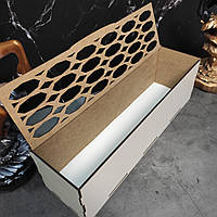 Оригинальная деревянная шкатулка. Коробка, упаковка для подарков.