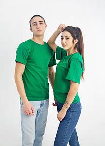 Універсальна футболка вільного крою (зелена)