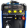 Сварочный полуавтомат 2 в 1 (MIG MMA) Искра-Профи Cobalt MIG-340DC сварочный аппарат миг, полуавтомат для дома, фото 3