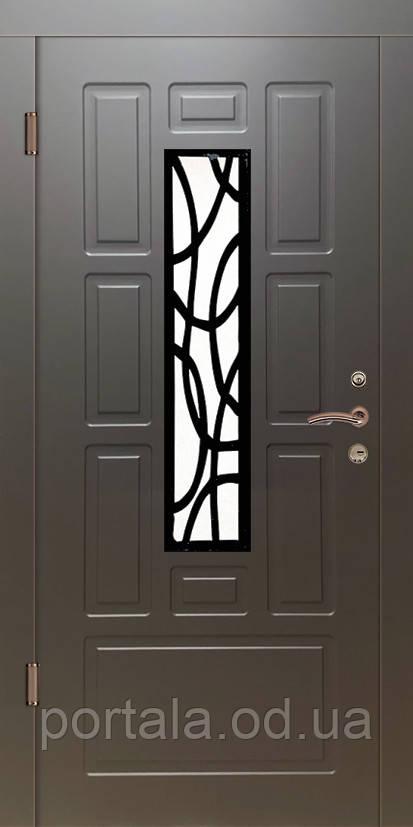 """Входная дверь для улицы """"Портала"""" (Элегант NEW Vinorit) ― модель Элегант-10"""