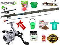 Готовые наборы для рыбалки, подарочные наборы для рыбалки, спиннинг с катушкой, Набор рыболовных снастей!