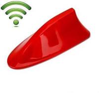 YOLU автомобильная антенна плавник акулы (красная)
