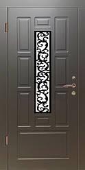 """Вхідні двері для вулиці """"Портала"""" (Елегант NEW RAL) ― модель Елегант-9"""