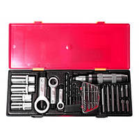 Комплект инструментов для демонтажа крепежных элементов с поврежденной резьбой K8261 JTC