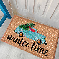 Дверний килимок Зимнее Приключение