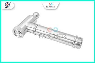 Лійка для біде латунна хромована плавне регулювання на картриджі, PT 410301, ANGO BRAS 62
